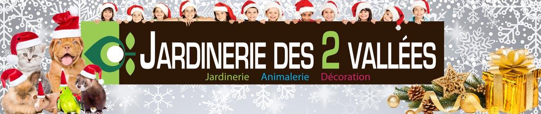 Jardinerie Animalerie des 2 Vallées Logo
